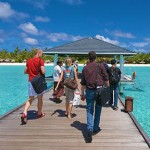 Foreign travellers account for 95% of tourism-related emissions in Maldives