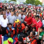 Three-hour play, skydiving among Independence day activities