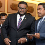 President Yameen's plans for a new deputy unclear