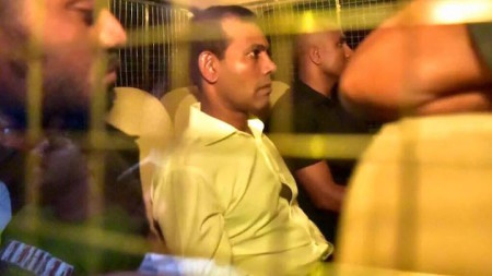 Nasheed reimprisoned