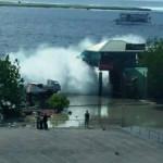 Malé hit by tidal swells