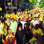 MDP resumes anti-government campaign with protest march
