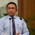President warns Maldivians to be wary of 'traitorous plotters'