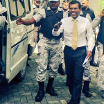Ex-president brought to Malé