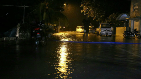 Addu City floods