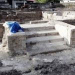 Ruins of ancient mosque dug up on southern island