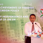 President Yameen's speech on 50 years of UN membership