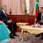 """Indian foreign secretary pledges """"continued support"""" during official visit"""