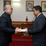 New Indian High Commissioner takes up post