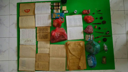 Items confiscated from Velidhoo