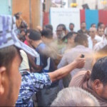 Maldives opposition condemns police obstruction of anti-corruption walk