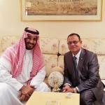 Saudi Arabia pledges US$50m for military housing project