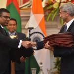 Maldives, India sign defence action plan