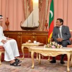 UAE foreign minister calls on President Yameen
