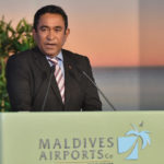 Yameen hits back at Gayoom's criticism of development vision