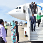 First couple returns to Malé after stopover in Sri Lanka