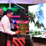 President inaugurates US$140m hospital tower project