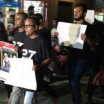Police block journalists' silent protest