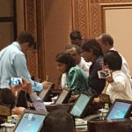 Opposition MPs protest in parliament over jailing of Mahloof
