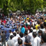 Police keep tight control on opposition gatherings