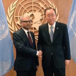 Ban Ki-moon renews calls for dialogue in the Maldives
