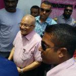 Gayoom forced to leave without military bodyguards