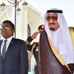 Maldives prepares to greet Saudi king