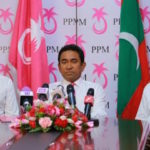 Yameen on Adeeb and corruption allegations in rare press conference