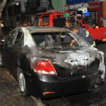 Chief prosecutor's car torched