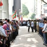 Current political crisis like 2004 tsunami: Gayoom