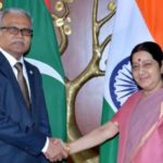 Top India minister Swaraj explains Maldives no-show