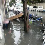 Rainfall causes heavy flooding in Malé