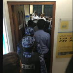 Three arrested after MDP office raid