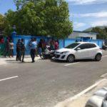 Imam injured in minister car prang