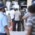 Malé gas explosion injures three