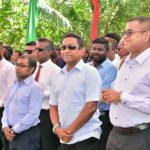 Maldives ruling party submits president's candidacy papers