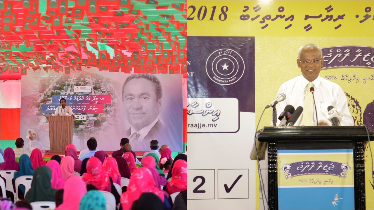 Opposition candidate claims victory in Maldives election