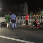 Four accidents on Sinamalé Bridge