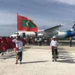 Test flight lands in Kulhudhuffushi airstrip