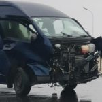 Five injured in highway accidents
