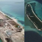 Maldives island denuded of trees for airport