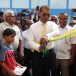 Nasheed's Addu office to promote low-carbon development
