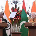 Indian prime minister announces US$1.4 billion assistance to Maldives