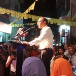 Ex-president Nasheed launches campaign for parliament seat