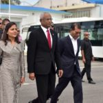 President Solih departs on state visit to India