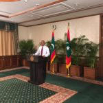 Maldives president defends Indian assistance