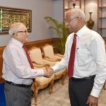 Gayoom reaffirms support for President Solih