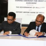 Agreement signed for US$800m line of credit from India