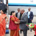 Indian external affairs minister arrives in Maldives