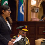 Defence minister apologises for Indian occupation remarks